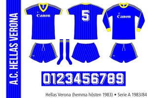 Hellas Verona 1983/84 (hemma hösten 1983)