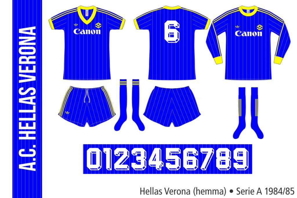 Hellas Verona 1984/85 (hemma)