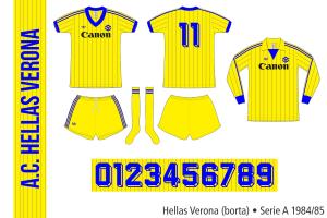 Hellas Verona 1984/85 (borta)
