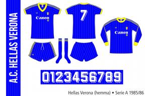 Hellas Verona 1985/86 (hemma)