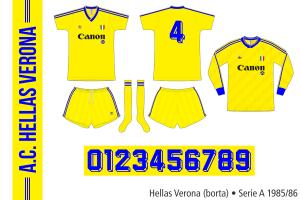 Hellas Verona 1985/86 (borta)