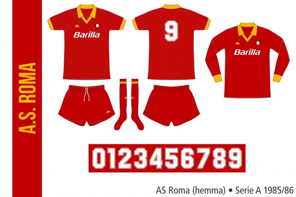 AS Roma 1985/86 (hemma)
