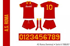 AS Roma 1986/87 (hemma)