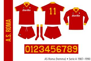 AS Roma 1987–1990 (hemma)