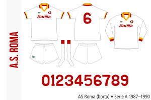 AS Roma 1987–1990 (borta)
