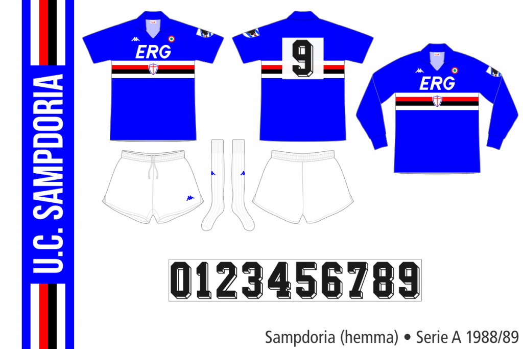 Sampdoria 1988/89 (hemma)