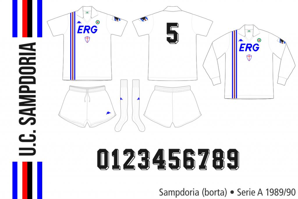 Sampdoria 1989/90 (borta)