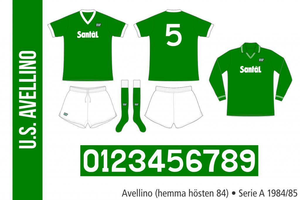 Avellino 1984/85 (hemma hösten 84)