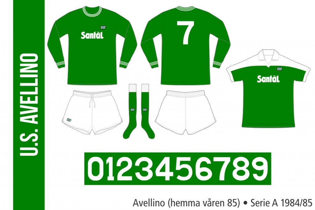 Avellino 1984/85 (hemma våren 85)