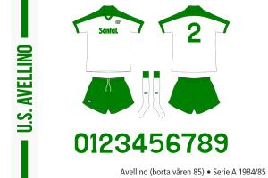 Avellino 1984/85 (borta våren 85)