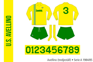 Avellino 1984/85 (tredjeställ)