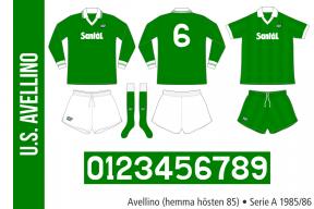 Avellino 1985/86 (hemma hösten 85)