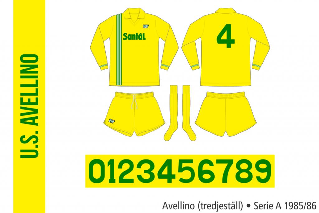 Avellino 1985/86 (tredjeställ)