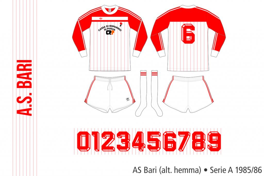 Bari 1985/86 (alternativ hemma)