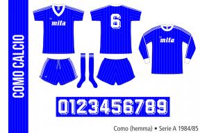 Como 1984/85 (hemma)