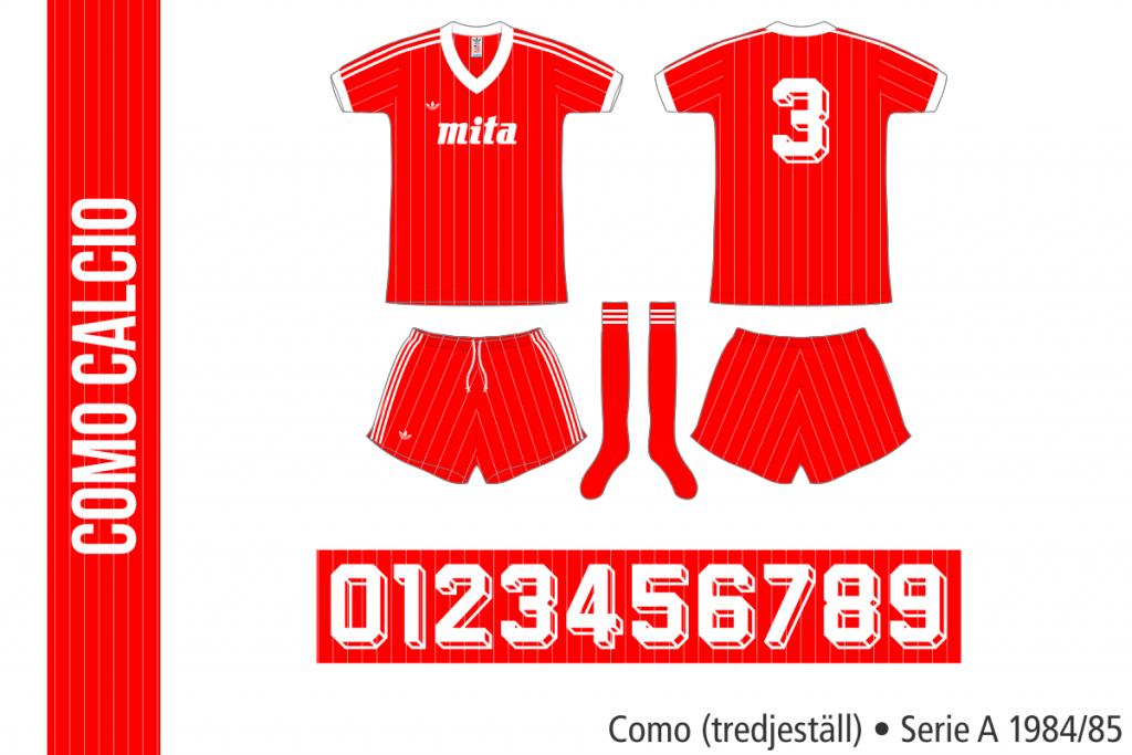 Como 1984/85 (tredjeställ)