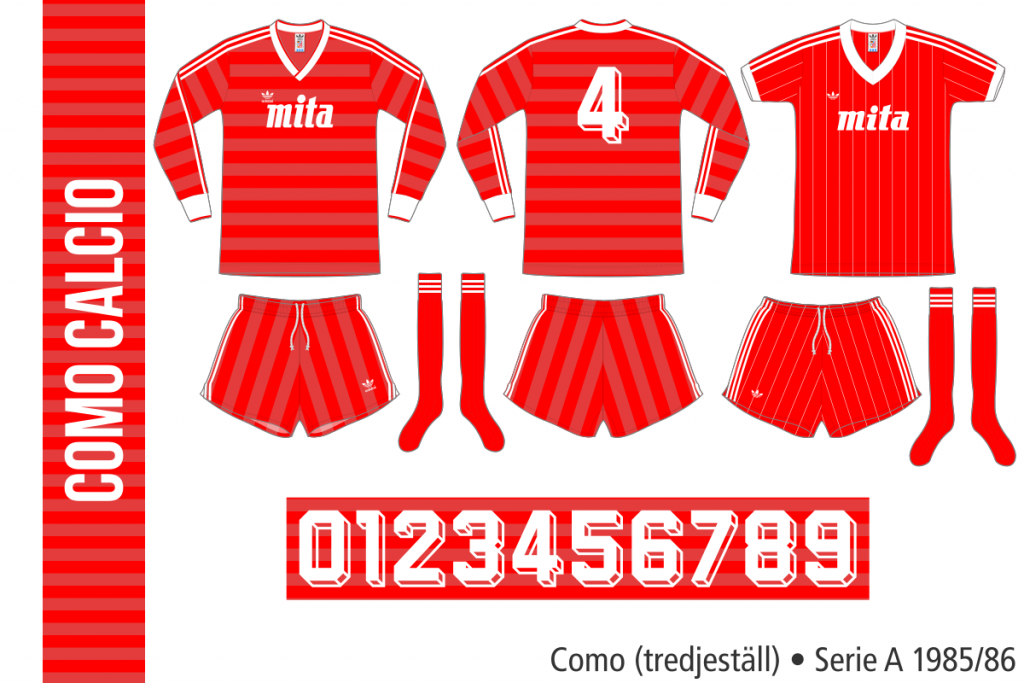 Como 1985/86 (tredjeställ)