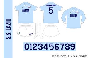 Lazio 1984/85 (hemma)