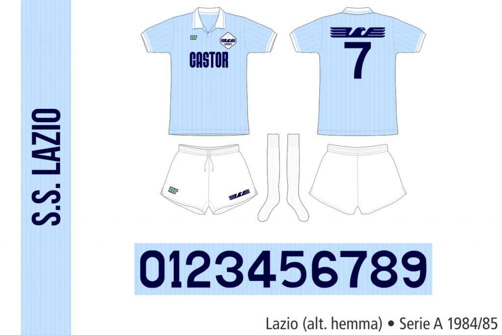 Lazio 1984/85 (alternativ hemma)