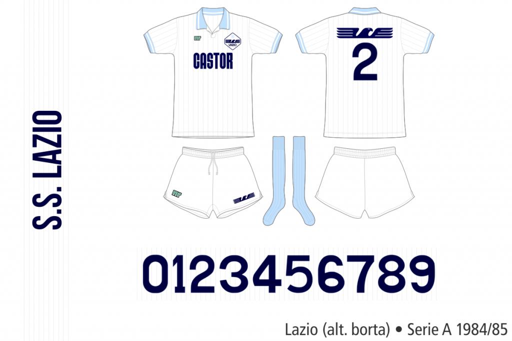 Lazio 1984/85 (alternativ borta)