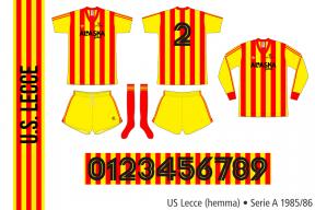 Lecce 1985/86 (hemma)