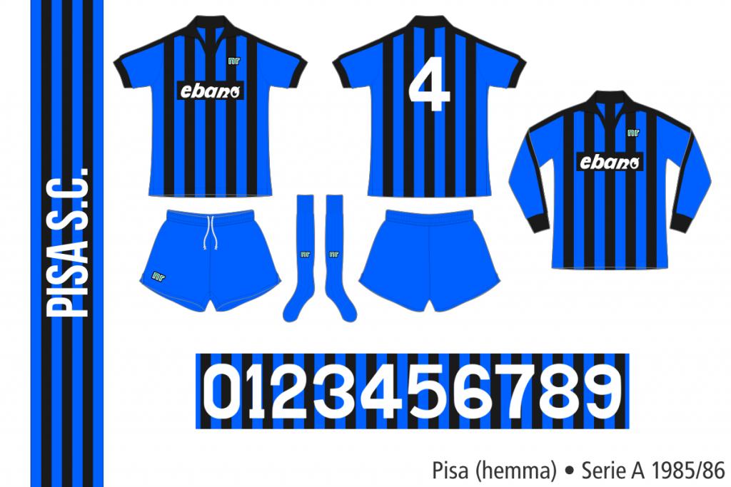 Pisa 1985/86 (hemma)