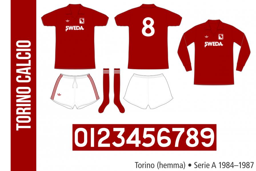 Torino 1984–1987 (hemma)