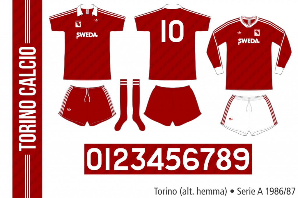 Torino 1986/87 (alternativ hemma)