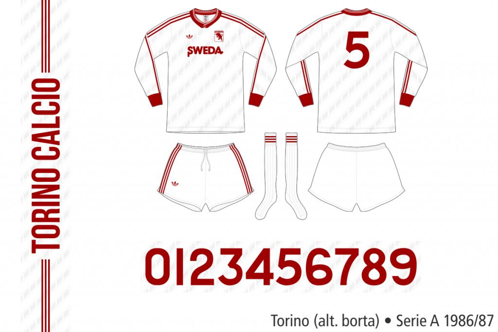 Torino 1986/87 (alternativ borta)