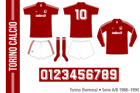 Torino 1988–1990 (hemma)