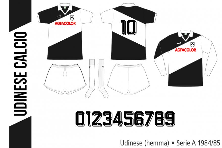 Udinese 1984/85 (hemma)