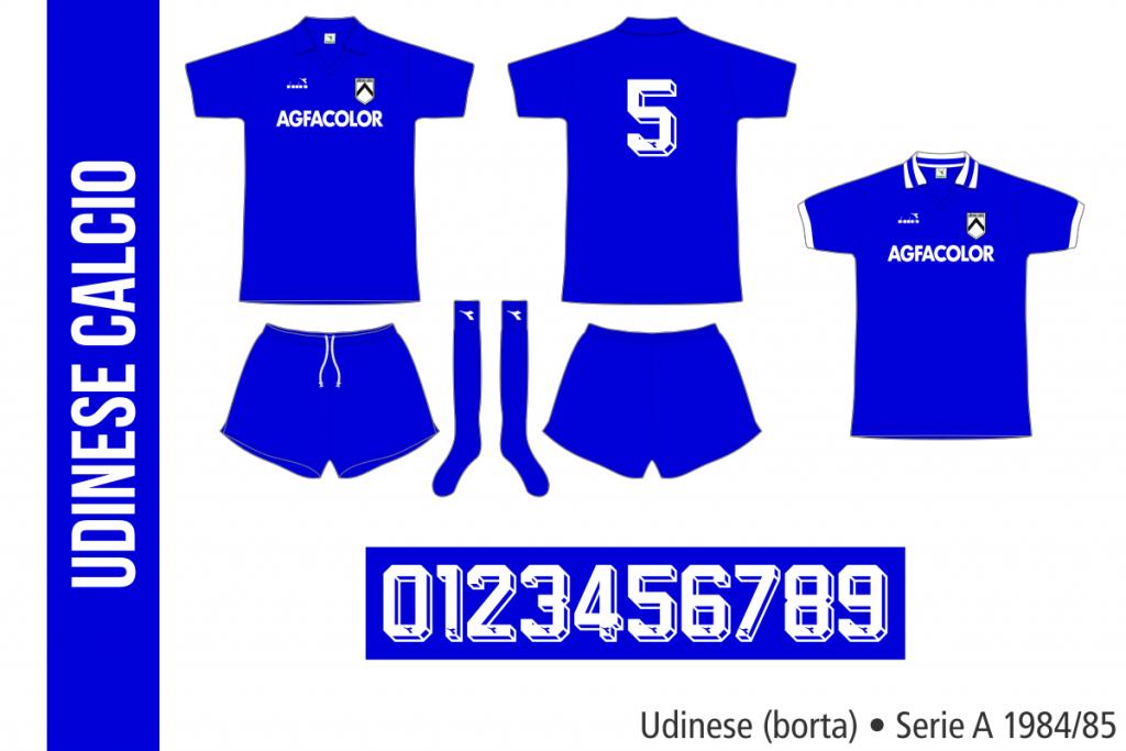 Udinese 1984/85 (borta)
