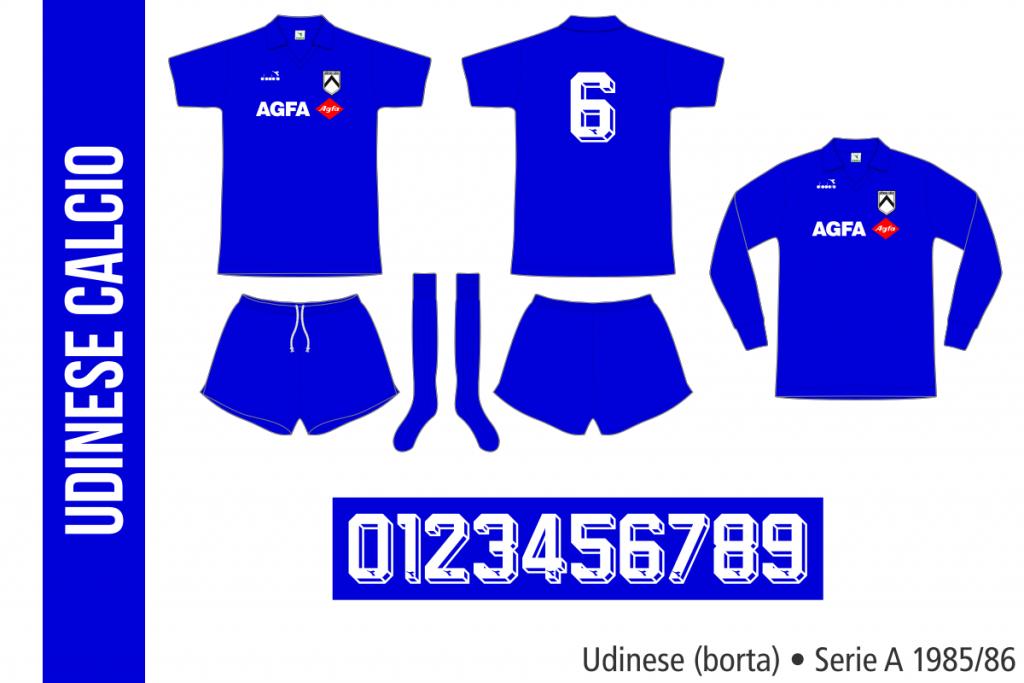 Udinese 1985/86 (borta)