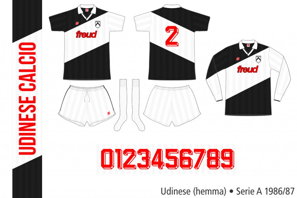 Udinese 1986/87 (hemma)