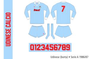 Udinese 1986/87 (borta)