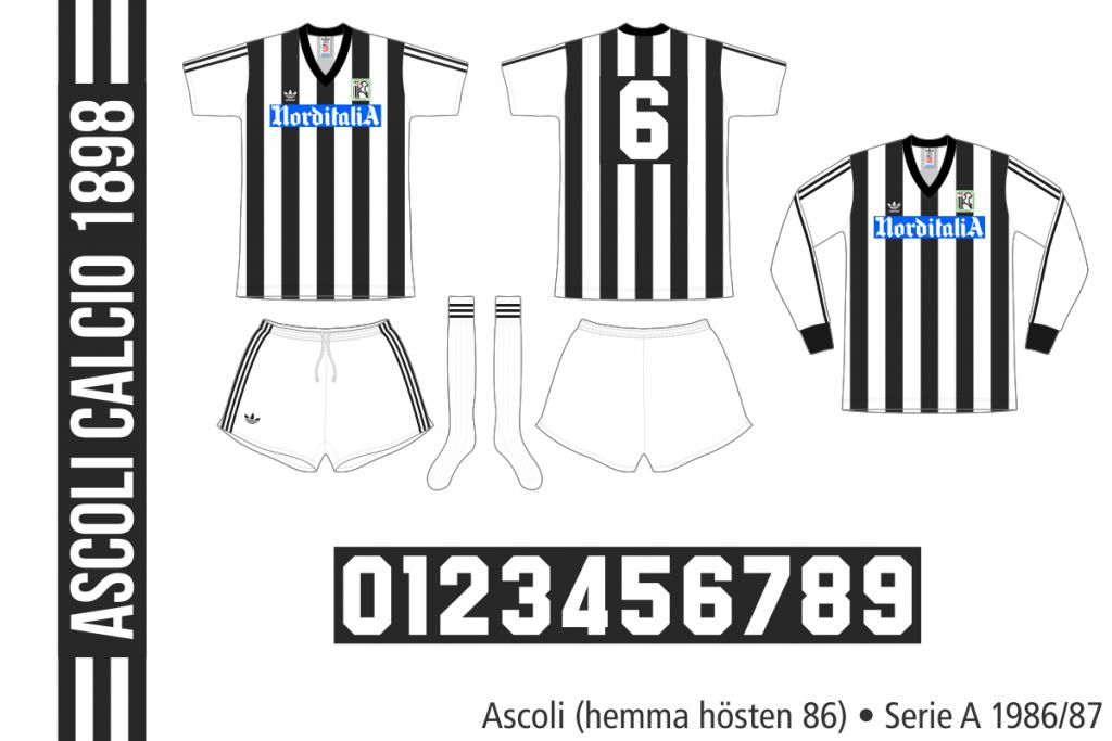 Ascoli 1986/87 (hemma hösten 1986)