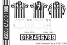 Ascoli 1987–1989