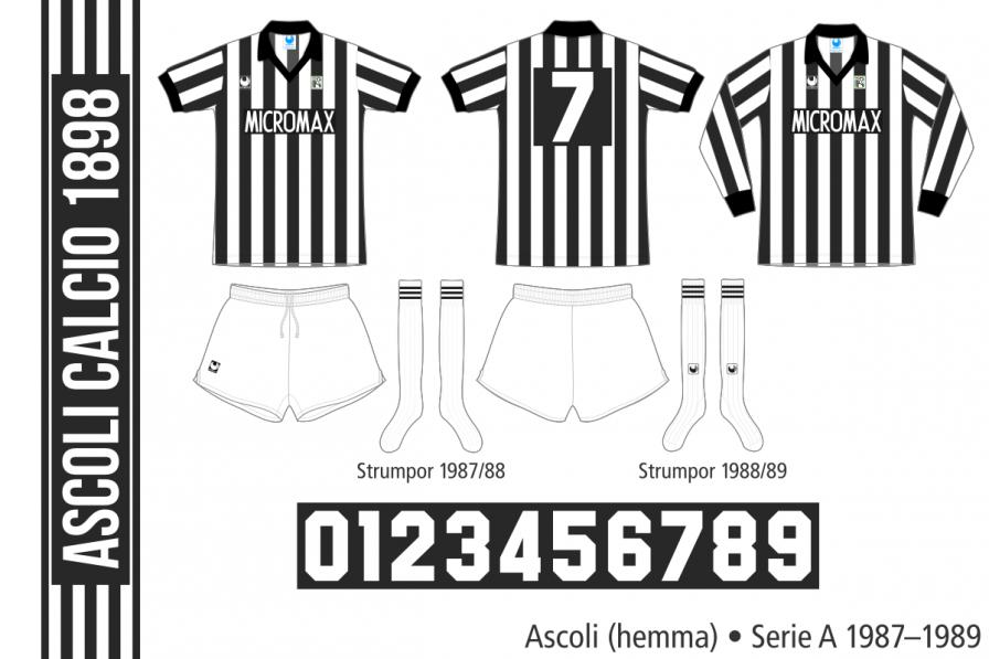 Ascoli 1987–1989 (hemma)