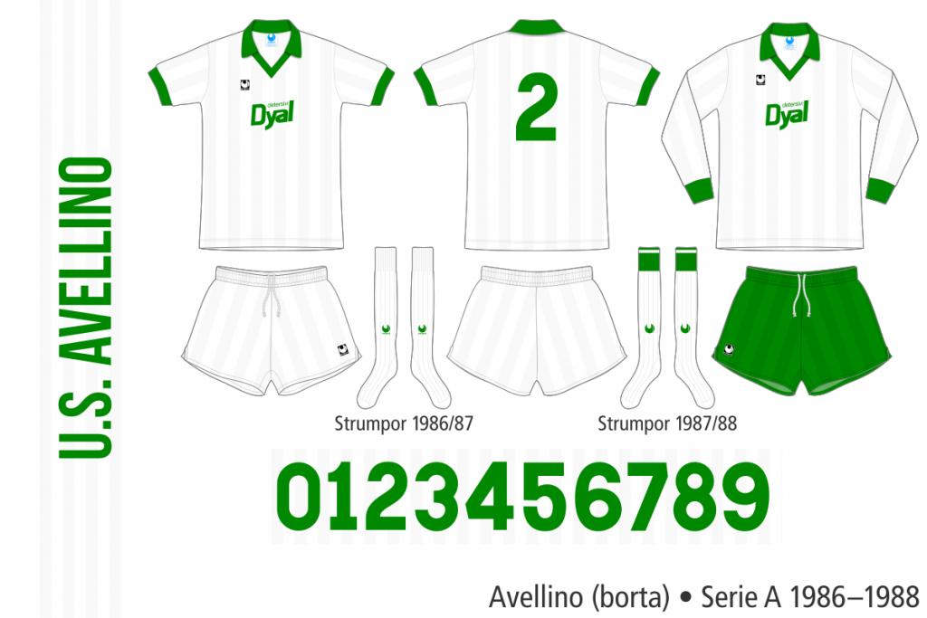 Avellino 1986–1988 (borta)