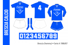 Brescia 1986/87 (hemma)