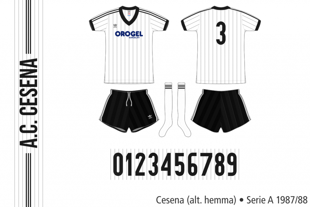 Cesena 1987/88 (alternativ hemma)