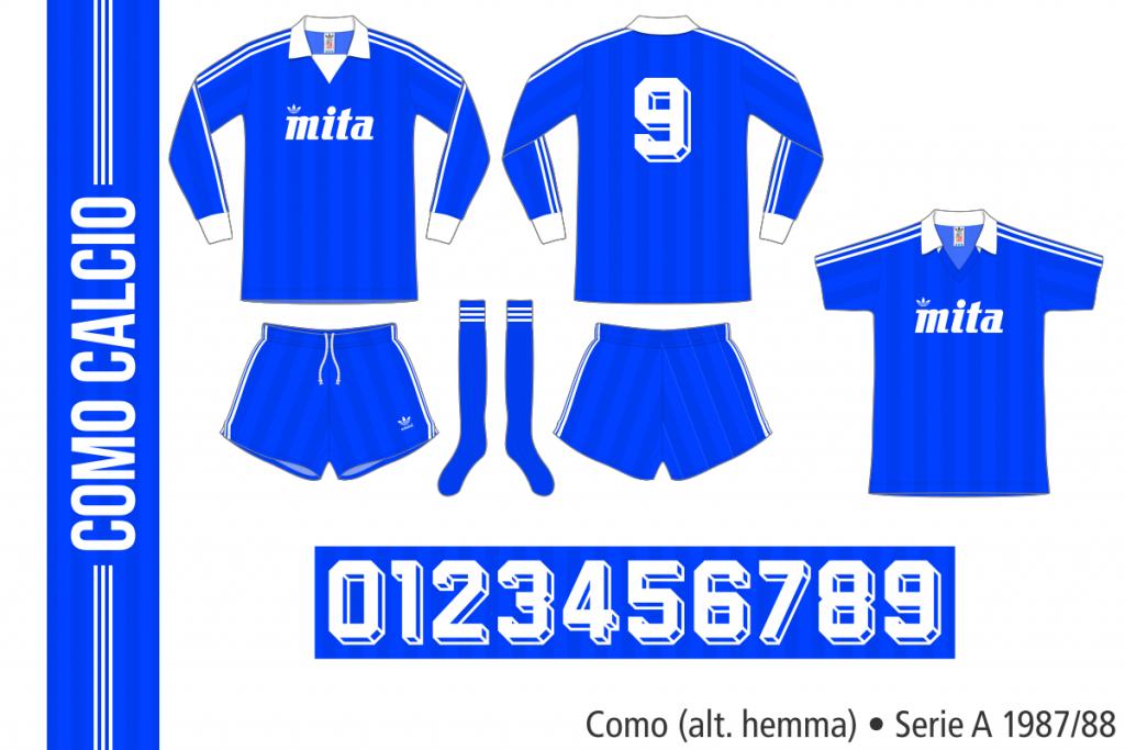Como 1987/88 (alternativ hemma)