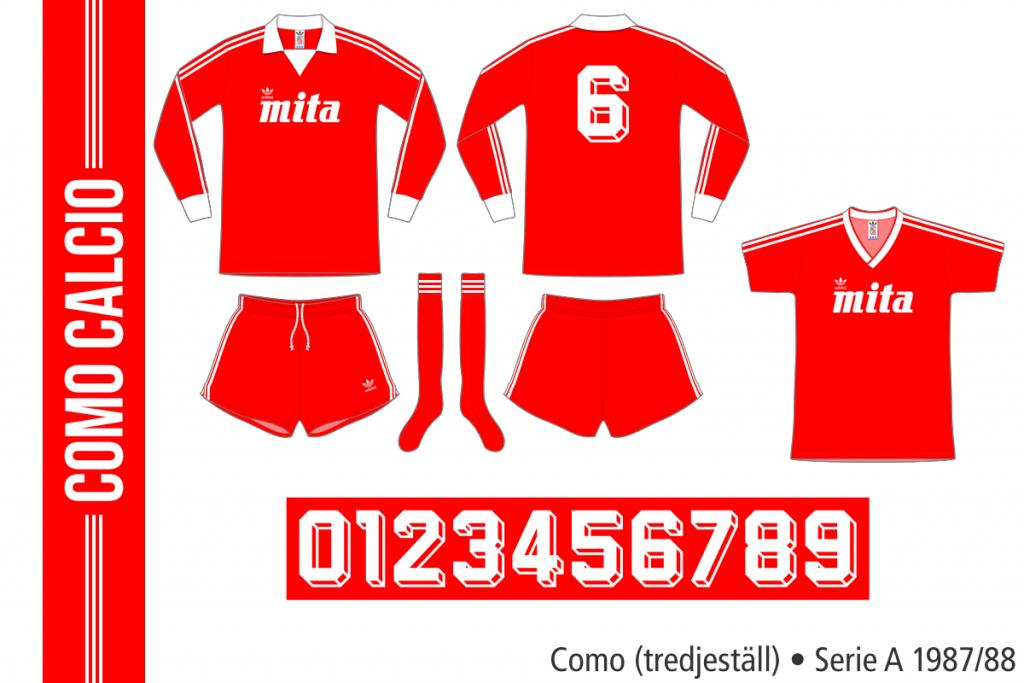 Como 1987/88 (tredjeställ)