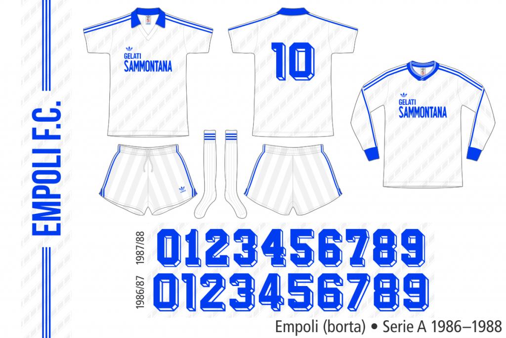Empoli 1986–1988 (borta)