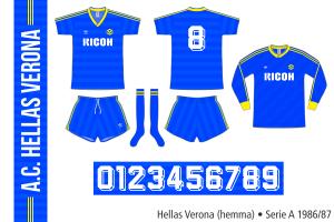Hellas Verona 1986/87 (hemma)