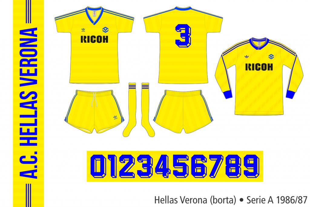 Hellas Verona 1986/87 (borta)