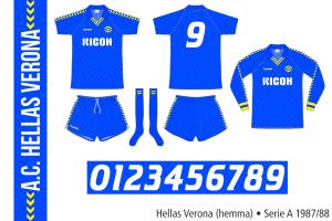 Hellas Verona 1987/88 (hemma)