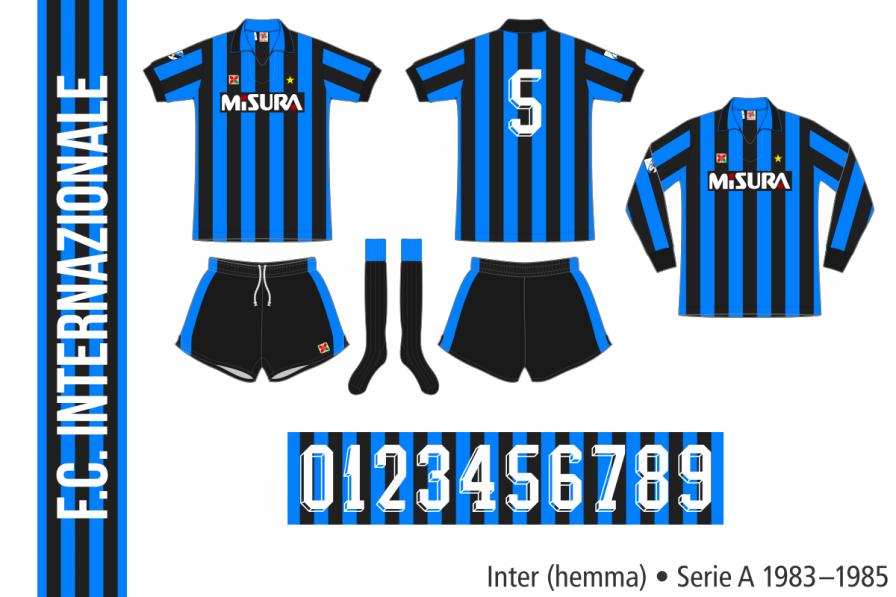 Inter 1983–1985 (hemma)