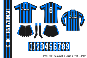 Inter 1983–1985 (alternativ hemma)