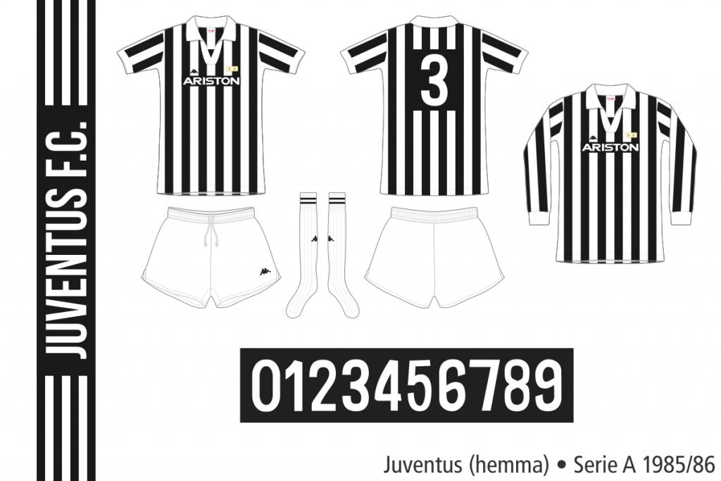 Juventus 1985/86 (hemma)